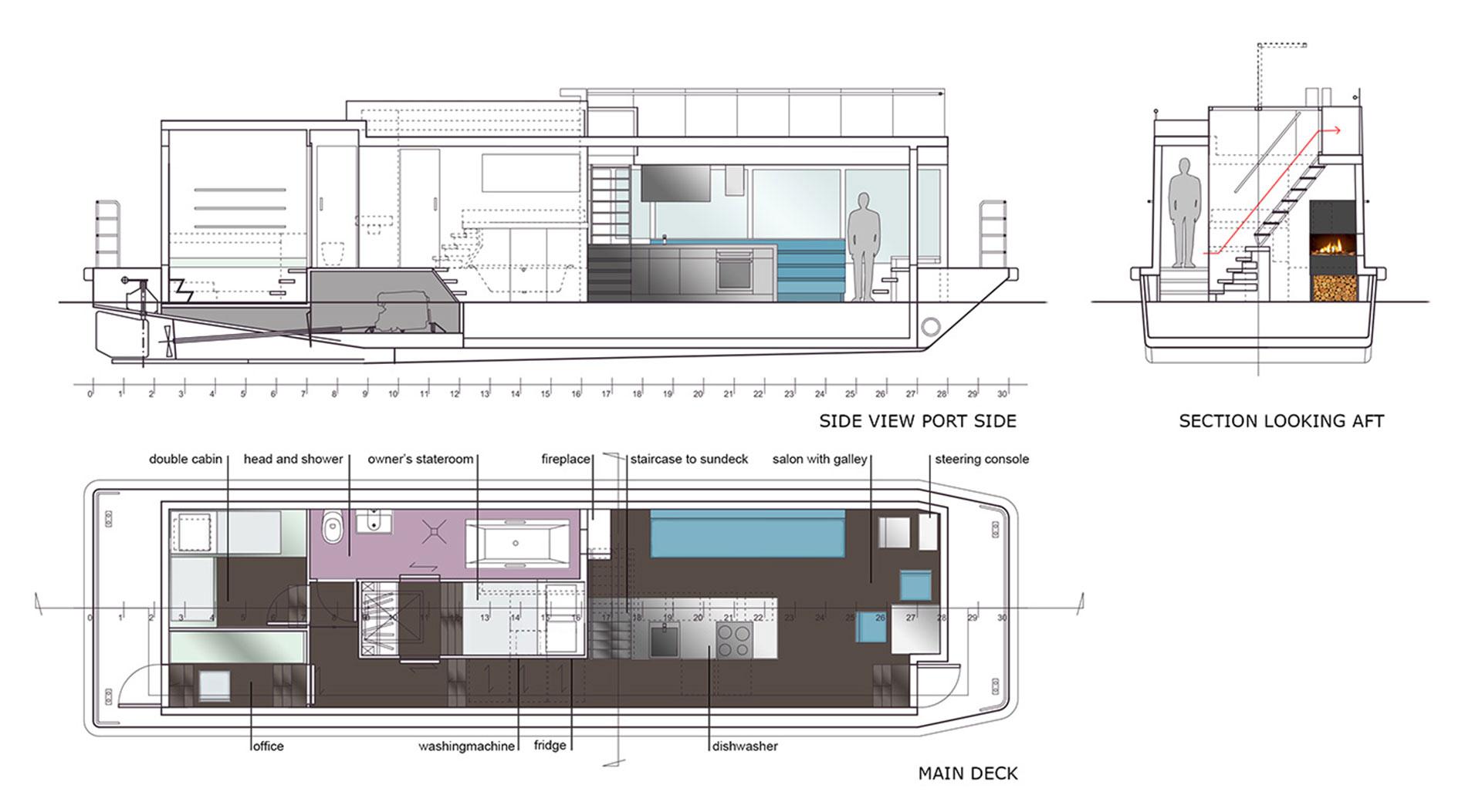 houseboat Sea 7 Design
